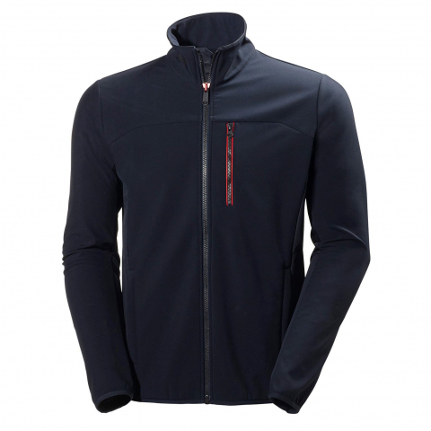 Helly Hansen Crew Softshell Jacket Navy Blue