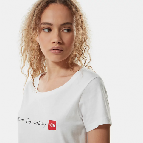 The North Face Women's NSE T-Shirt  White