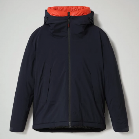 Napapijri Short Jacket Fahrenheit - Dark Blue
