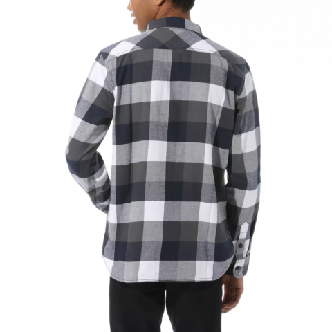 Vans Box Flannel Shirt White-Dress Blues