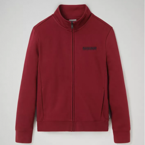 Napapijri Zip Sweatshirt Bebel - bordeaux