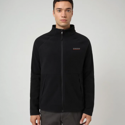 Napapijri Zip Fleece Tear Black