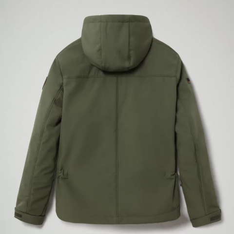 Napapijri Short jacket Akir Green